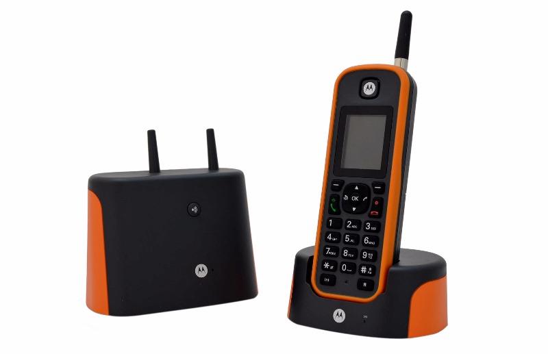 Exhibitormotorola O201outdoor Dect Telephone Cordless Analogue #3444059