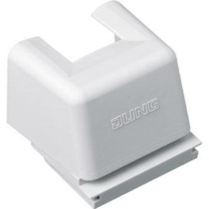 Jung Kanal-Einführung; für Kabelkanal 15 x 15 mm; für wassergesch. Geräte WG 800 ..., 895