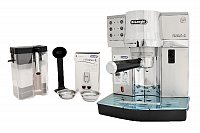 DeLonghi EC 850.M Freestanding Drip coffee maker Silver 1 L Fully-auto