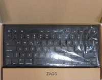 ZAGG Universal Keyboard Wired Lightning KB black QWERTZ