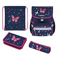 Herlitz Loop Plus Butterfly, Schulranzen