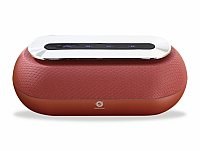 Conceptronic DUNKAN Wireless Bluetooth Speaker, red