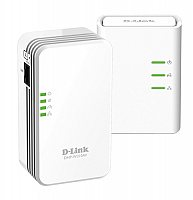D-Link DHP-W311AV Mini Powerline AV 500 Wireless N Kit