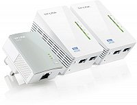 TP-Link TL-WPA4220 TKIT AV500 Powerline WLAN 3er KIT (2x LAN)