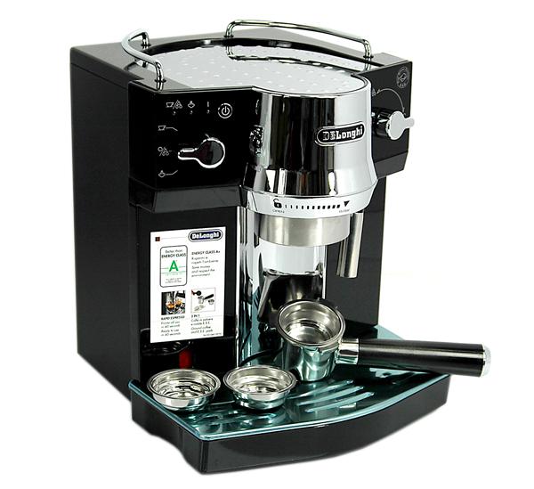 delonghi ec820 b espressomaschine siebtr ger ec820b ec 820 b ec 820 b mit cappu ebay. Black Bedroom Furniture Sets. Home Design Ideas