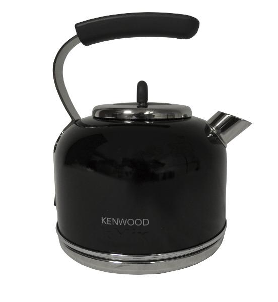 kenwood wasserkocher retro kmix skm 034 pfeffer sw 0wskm034a2 ebay. Black Bedroom Furniture Sets. Home Design Ideas