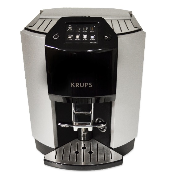krups ea9000 automatic espresso vollautomat aluminium schwarz espresseria ea 900 ebay. Black Bedroom Furniture Sets. Home Design Ideas
