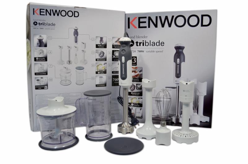 kenwood hb724 stabmixer set triblade 700w hb724 ebay. Black Bedroom Furniture Sets. Home Design Ideas