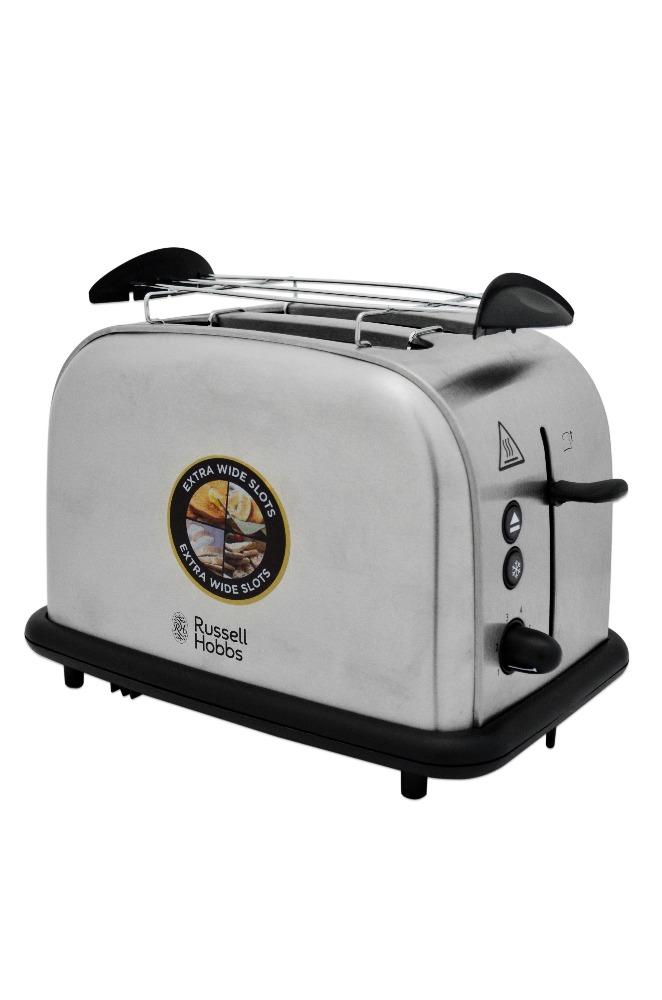 4x russell hobbs 20700 56 oxford 2 schlitz toaster edelstahl 23017036002 ebay. Black Bedroom Furniture Sets. Home Design Ideas
