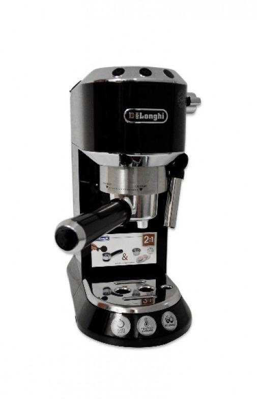 delonghi ec680 bk dedica siebtr ger ec 680 bk espressomaschine mit milchaufsch. Black Bedroom Furniture Sets. Home Design Ideas