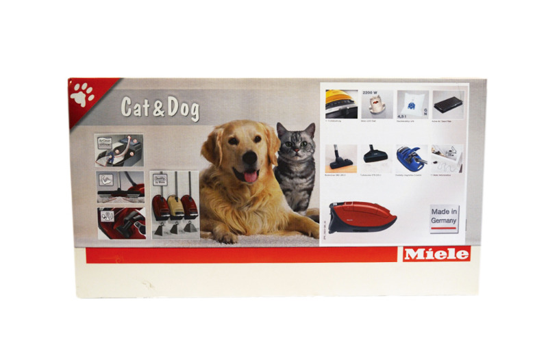 Miele s8 cat und dog bodenstaubsauger mango rot s8320 s8 for Miele cat dog