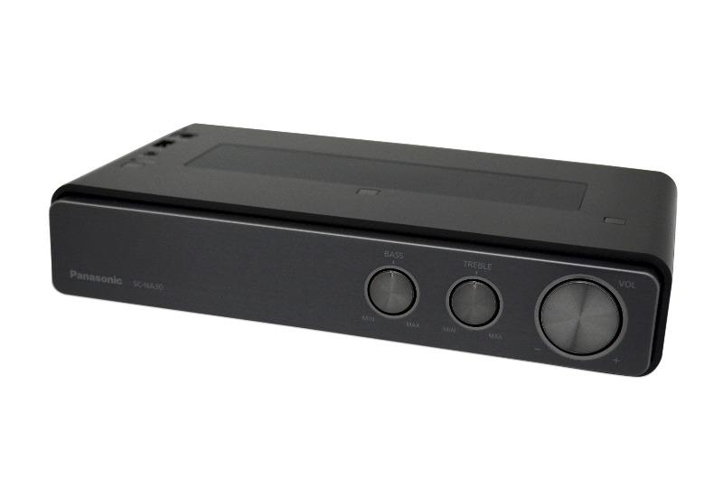 panasonic sc na30eg k schwarz bluetooth lautsprecher wireless hifi system sc na3 ebay. Black Bedroom Furniture Sets. Home Design Ideas