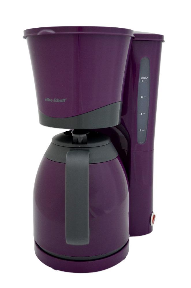 efbe schott sc ka 520 1 p purpur thermo kaffeemaschine filterkaffeemaschine mi ebay. Black Bedroom Furniture Sets. Home Design Ideas