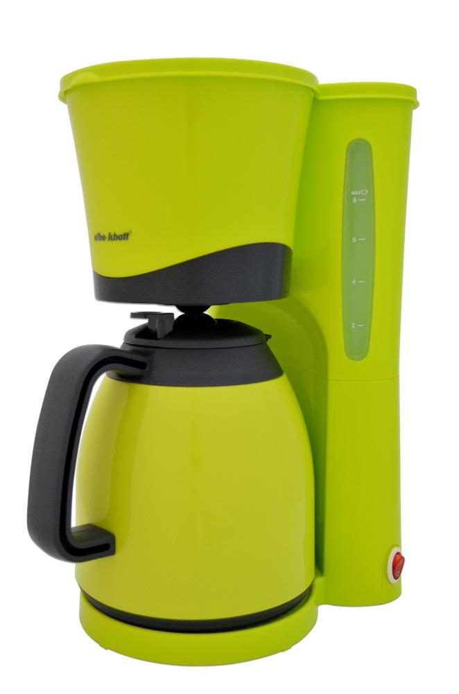 efbe schott sc ka 520 1 l filterkaffeemaschine mit thermoskanne lemon apfelgr ebay. Black Bedroom Furniture Sets. Home Design Ideas