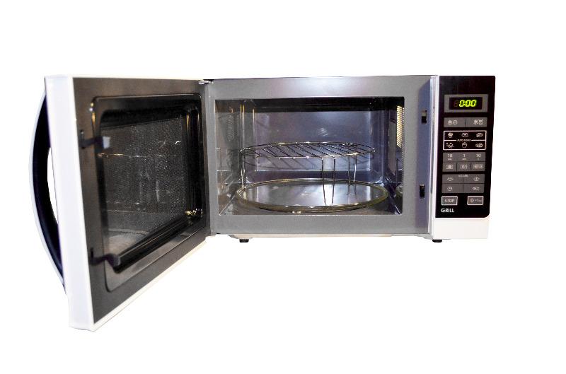 sharp r 742ww mikrowelle mit grill r 742 w w ebay. Black Bedroom Furniture Sets. Home Design Ideas