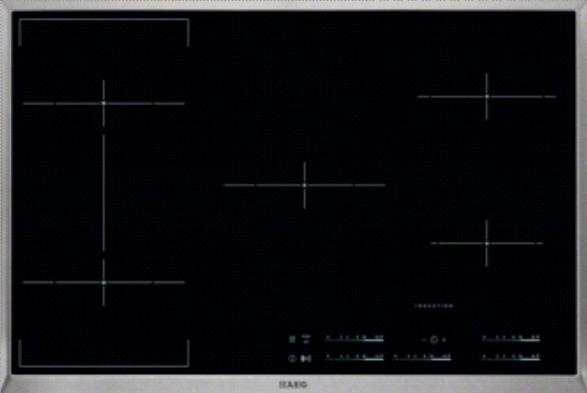 Aeg Hk855400xb Induktionskochfeld Autark 80cm Hk 855400 X B Edelstahl Rahmen 949 Ebay