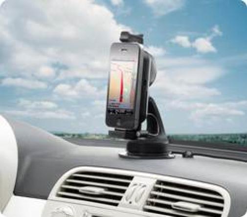 TomTom Navigationsset mit Freisprechfunktion für iPhone