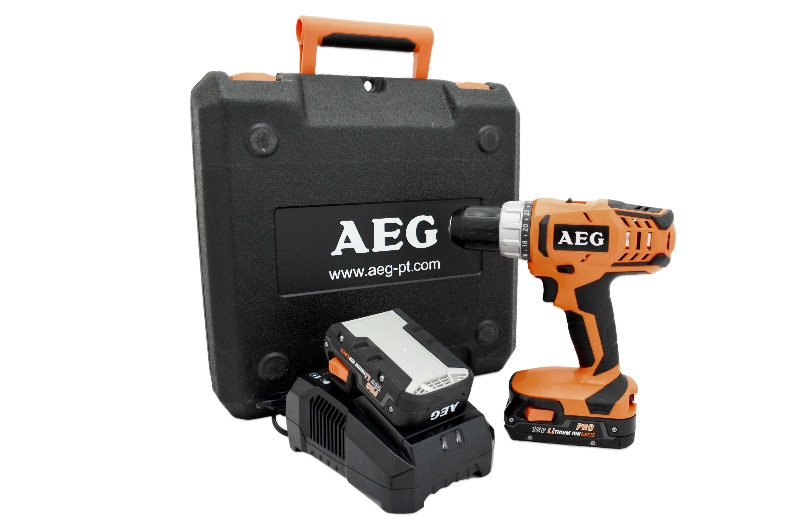 customer return aeg bs18g2 li 152c cordless drill incl 2 x battery 18 v 1 4002395134441 ebay. Black Bedroom Furniture Sets. Home Design Ideas