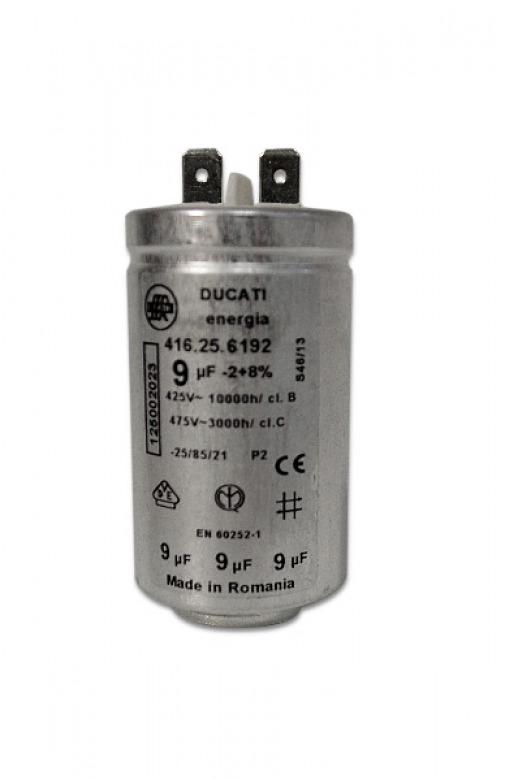 ducati aeg electrolux kondensator 9mf f r w schetrockner ebay. Black Bedroom Furniture Sets. Home Design Ideas