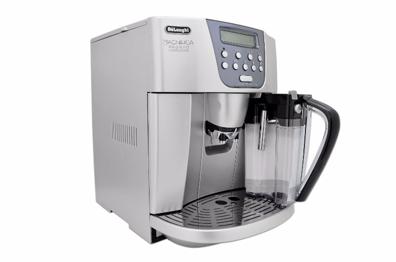 delonghi esam 4506 magnifica pronto cappuccino esam4506 ebay. Black Bedroom Furniture Sets. Home Design Ideas