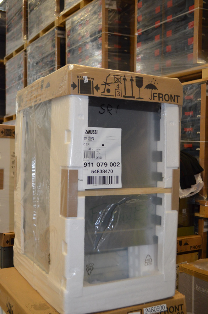 2480516 2 wahl zanussi geschirrsp ler zdv12002fa vollintegriert 45cm 248051 ebay. Black Bedroom Furniture Sets. Home Design Ideas