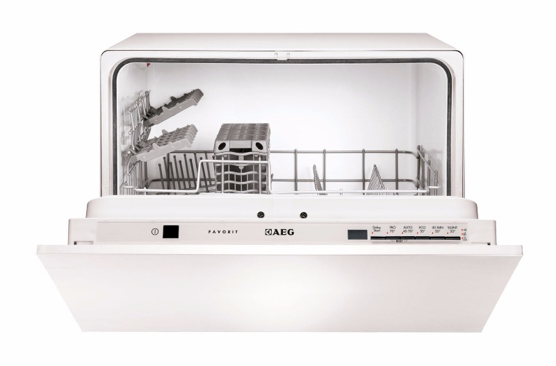 aeg favorit 45270vi kompakt einbau geschirrsp ler vollintegriertfavorit eek a ebay. Black Bedroom Furniture Sets. Home Design Ideas