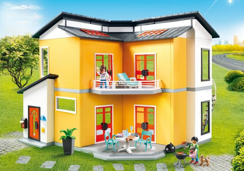 Détails sur Playmobil City Life 9266 Moderne Maison